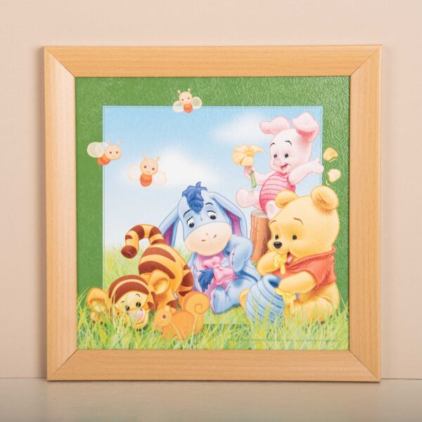 Poeh baby familie - Disney - Fotokader - Kinderkamer decoratie