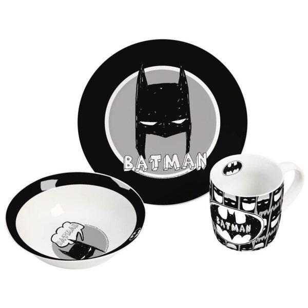 Ontbijtset Batman - kinderservies - mok en kom