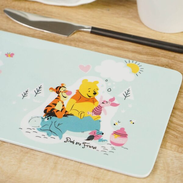 ontbijtplank winnie de poeh, knorretje, eeyore en teigetje Disney Free day