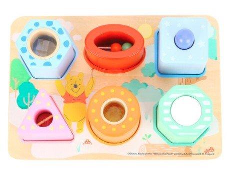 Puzzel met functieblokken Winnie De Poeh - Disney Baby