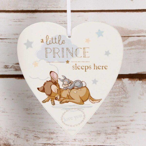 hanger Bambi en stamper - Disney hartje - Decoratie