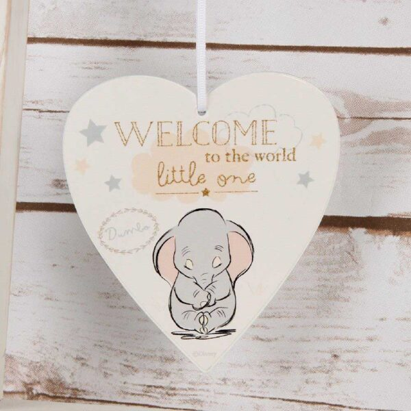 welcome to the world little one - Dumbo hanger - Disney