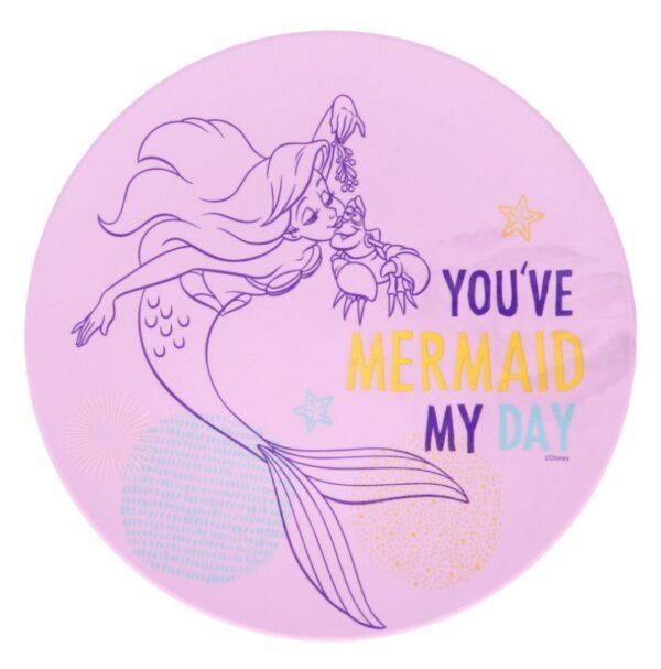 Plate of bord van Ariel de kleine zeemeermin
