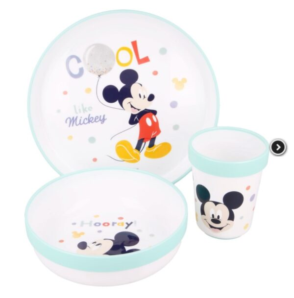 microwave set disney baby - Mickey Mouse - eetset Mickey