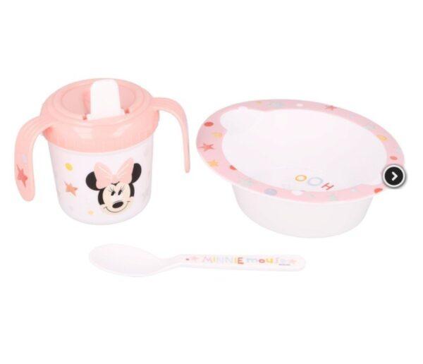 mijn eesrte eetset - Disney Baby - Minnie Mouse