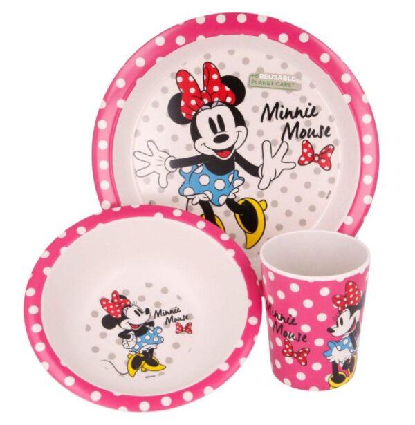 eetset Minnie Mouse met dots