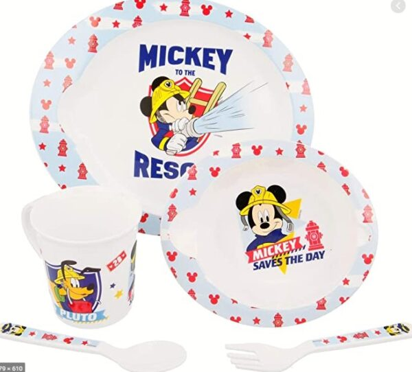 mickey to the rescue Disney Mickey Mouse eetset - diner microset