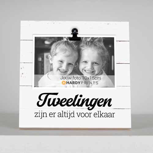 fotoblok - fotokader - tweelingen - decoratie