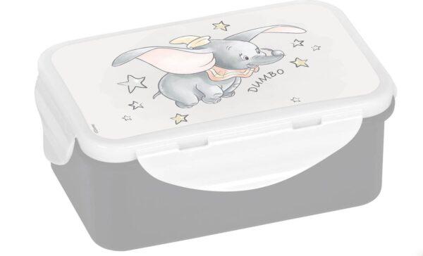 brooddoos Dumbo, disney, lunchbox, koekjesdoos, Geda label
