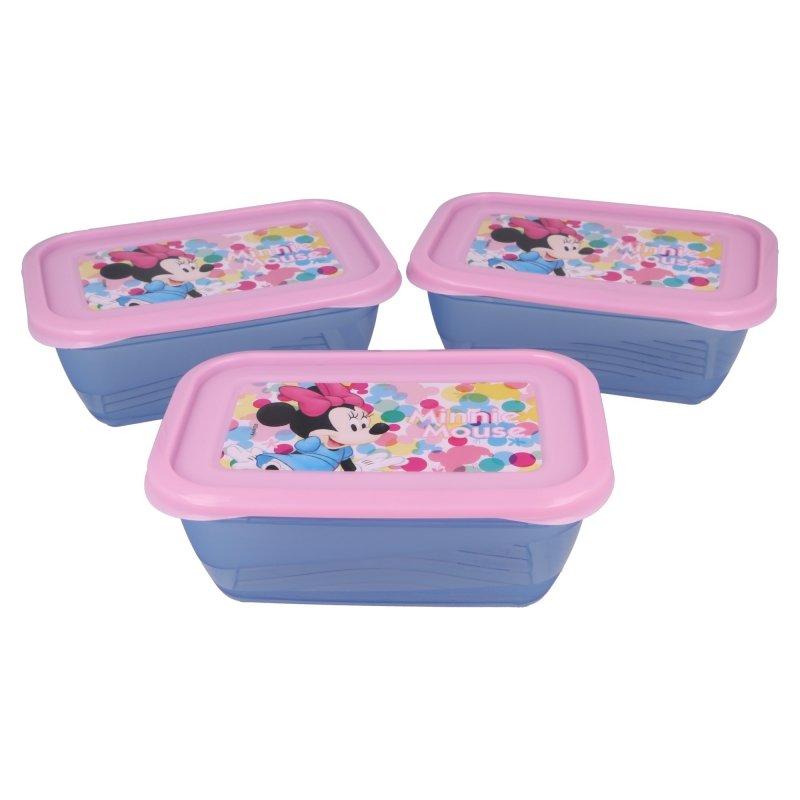 set van drie doosjes Minnie Mouse