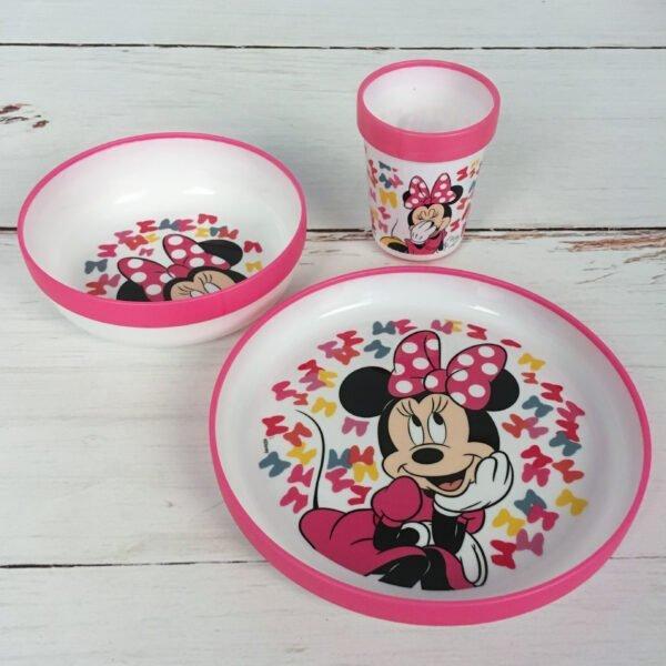 Minnie Mouse eetset kinderen keukengerei