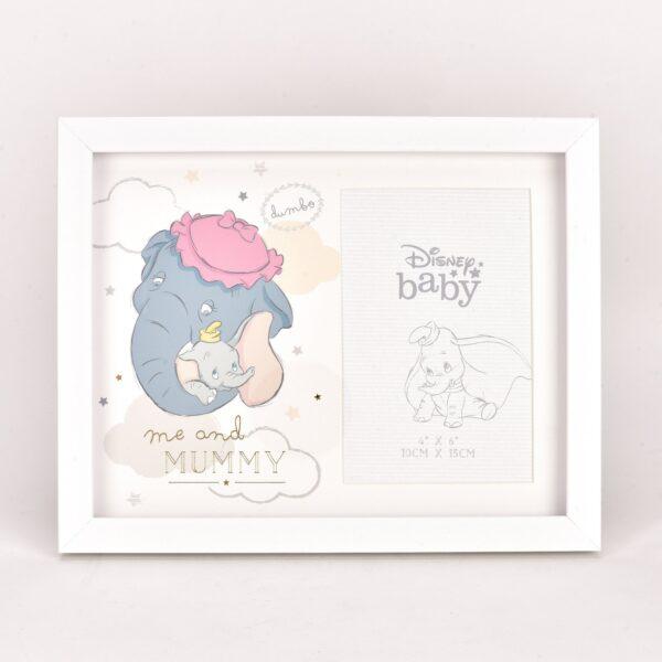Dumbo Dombo fotokader, Me and Mummy, Disney baby, fotolijst