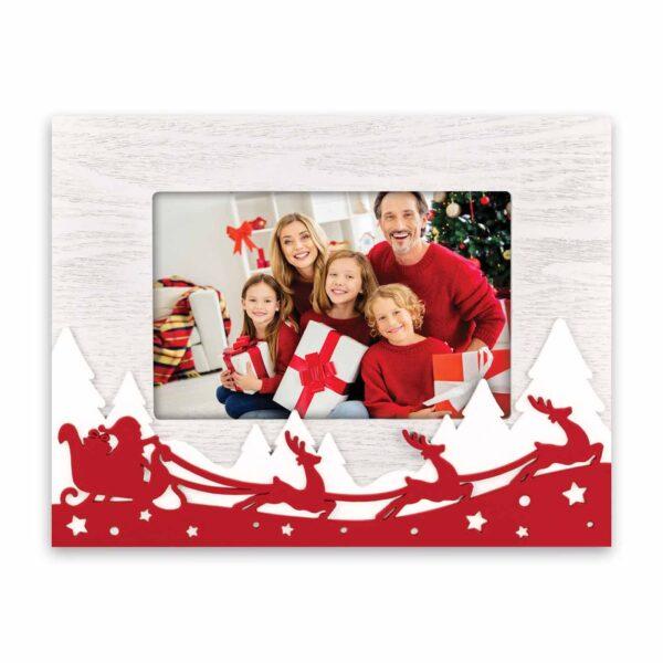 fotokader kerst - kerstman 10x15 henk zep
