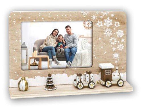 fotolijst ZEP Kerstmis met Trein 10x15