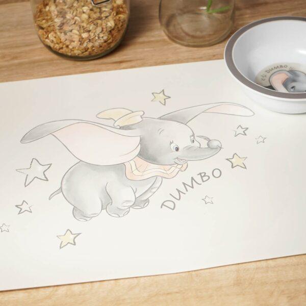 Dumbo gedalabel onderlegger, placemat Disney