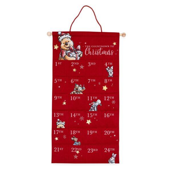 adventkalender Winnie de Poeh Kerstmis